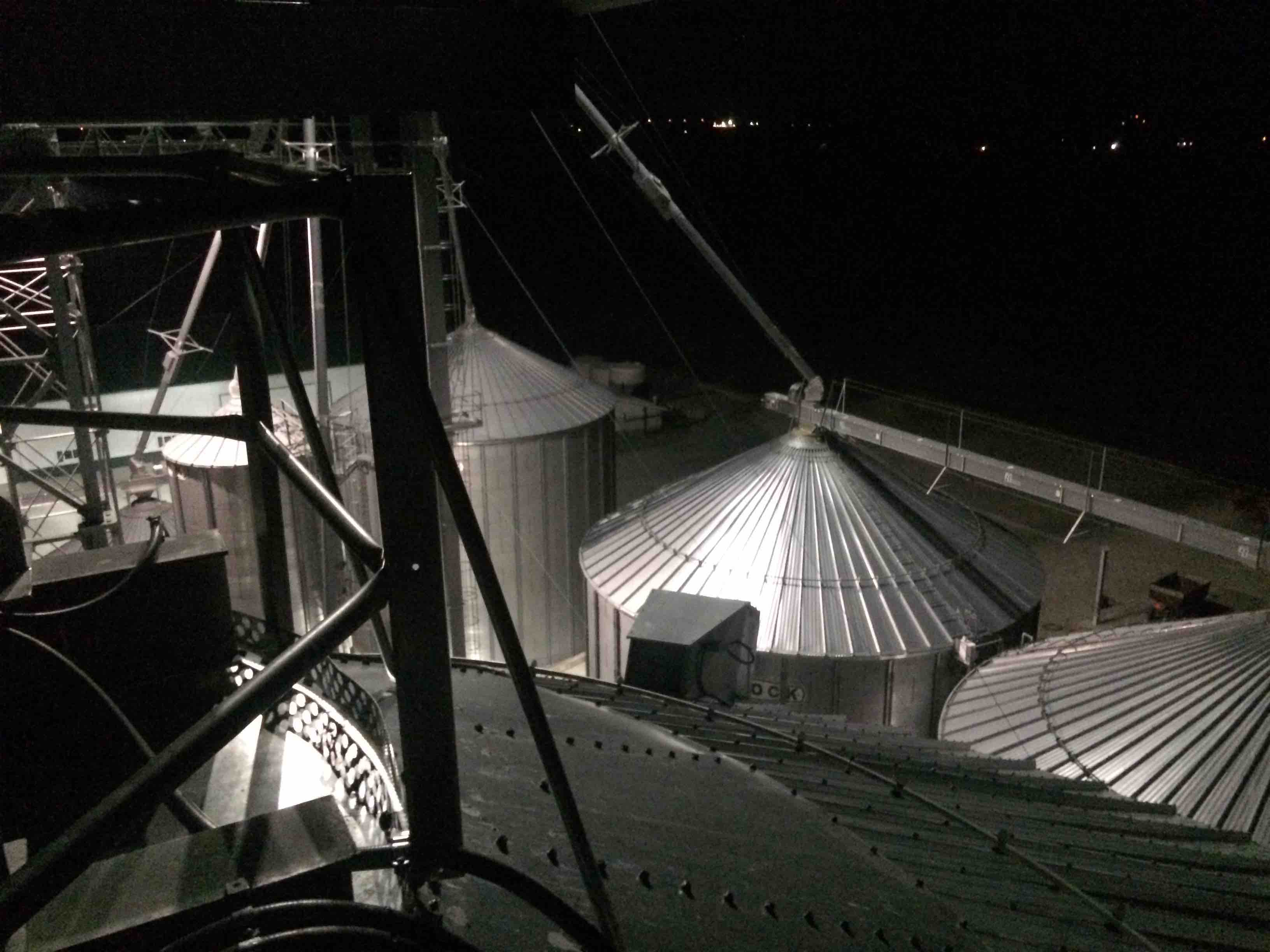 Lighting Solutions for Grain Bins